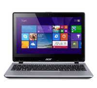 "Acer Aspire V3-111P-43BC 2.16GHz N3530 11.6"" 1366 x 768Pixel Touch screen Argento Computer portatile"