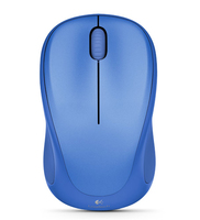 Logitech M317 RF Wireless Ambidestro Blu mouse