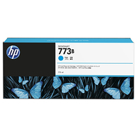 HP 773B 775-ml Cyan Designjet Ink Cartridge testina stampante