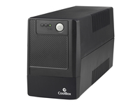 CoolBox Sai Guardian 800 800VA 2AC outlet(s) Mini tower Nero gruppo di continuità (UPS)