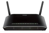 D-Link DSL-2751 Fast Ethernet Nero router wireless