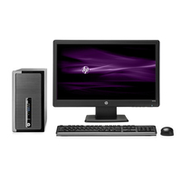 HP ProDesk 490 G1 MT + W1972a 3.2GHz i5-4570 Microtorre Nero PC
