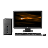 HP ProDesk 490 G1 MT + W2072a 3.2GHz i5-4570 Microtorre Nero PC