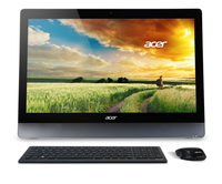 "Acer Aspire 5-620 2.2GHz i7-4702MQ 23"" 1920 x 1080Pixel Touch screen Nero, Acciaio inossidabile PC All-in-one"