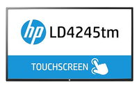 "HP LD4245tm 42"" 1920 x 1080Pixel Tavolo Nero monitor touch screen"