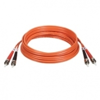 Tripp Lite Multimode Fiber Optics 6-m (20-ft.) Duplex MMF 62.5/125 Patch Cable, ST/ST 6m Arancione cavo a fibre ottiche