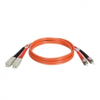 Tripp Lite Multimode Fiber Optics 9-m (30-ft.) Duplex MMF 62.5/125 Patch Cable, SC/ST 9m Arancione cavo a fibre ottiche
