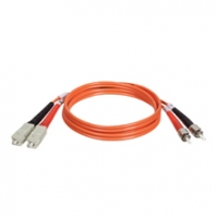 Tripp Lite Multimode Fiber Optics 11-m (35-ft.) Duplex MMF 62.5/125 Patch Cable, SC/ST 11m Arancione cavo a fibre ottiche