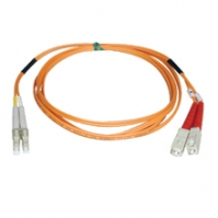 Tripp Lite Multimode Fiber Optics 21-m (70-ft.) Duplex MMF 62.5/125 Patch Cable, LC/SC 21m Arancione cavo a fibre ottiche