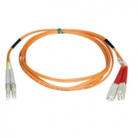 Tripp Lite Multimode Fiber Optics 76-m (250-ft.) Duplex MMF 62.5/125 Patch Cable, LC/SC 76m Arancione cavo a fibre ottiche