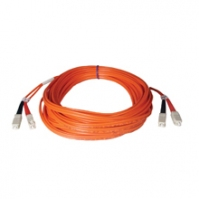 Tripp Lite Multimode Fiber Optics 30-m (100-ft.) Duplex MMF 50/125 Patch Cable, SC/SC 30m Arancione cavo a fibre ottiche