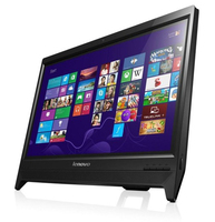 "Lenovo IdeaCentre C260 2.41GHz J2900 19.5"" 1600 x 900Pixel Touch screen Nero PC All-in-one"