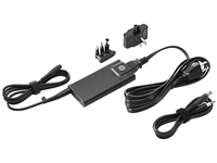 HP 65W Slim w/ USB AC Adapter Interno 65W Nero adattatore e invertitore