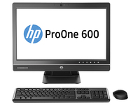 "HP ProOne 600 G1 3.2GHz i5-4690S 21.5"" Nero, Argento PC All-in-one"