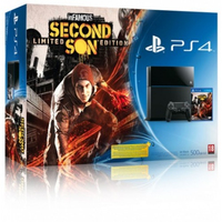 Sony PlayStation 4 500 GB + Infamous Second Son 500GB Wi-Fi Nero
