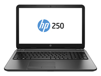 "HP 250 G3 1.8GHz i3-3217U 15.6"" 1366 x 768Pixel Touch screen Nero Computer portatile"