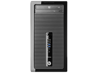 HP ProDesk DESKTOP BUNDEL (D5T94EA+YF175AA) 400 MT Intel Core i3-4130 + Office 365 Personal 3.4GHz i3-4130 Microtorre Nero PC