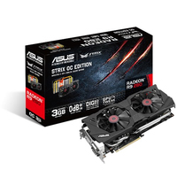 ASUS STRIX-R9280-OC-3GD5 Radeon R9 280 3GB GDDR5 scheda video