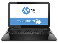 "HP 15-r004na TouchSmart 2.16GHz N3530 15.6"" 1366 x 768Pixel Touch screen Nero Computer portatile"