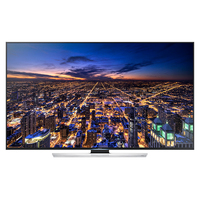 "Samsung UN85HU8550F 85"" 4K Ultra HD Compatibilità 3D Smart TV Wi-Fi Nero, Argento LED TV"