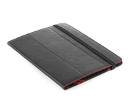 "NGS Red Tab 8"" Custodia a libro Nero, Rosso"