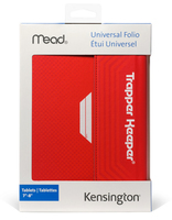 "Kensington Trapper Keeper 8"" Custodia a libro Rosso"