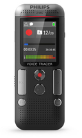 Philips Voice Tracer 2500 Flash card Nero dittafono