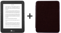 "Icarus E653BK-BUBK 6"" Touch screen 8GB Wi-Fi Nero lettore e-book"