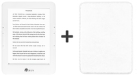 "Icarus E653WE-BUWE 6"" Touch screen 8GB Wi-Fi Bianco lettore e-book"
