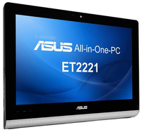 "ASUS ET 2221IUTH-B014Q 2.8GHz i5-4440S 21.5"" 1920 x 1080Pixel Touch screen Nero PC All-in-one"