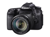 Canon EOS 70D + EF-S 18-135mm Kit fotocamere SLR 20.2MP CMOS 5472 x 3648Pixel Nero