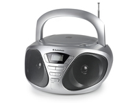 AudioSonic CD-1569 Digitale 6W Argento radio CD