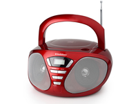 AudioSonic CD-1568 Digitale 6W Rosso radio CD