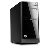 HP 110-350ns 2.4GHz G1620T Microtorre Nero PC