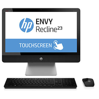 "HP ENVY Recline TouchSmart 23-k311d 2.7GHz i7-4790T 23"" 1920 x 1080Pixel Touch screen Nero PC All-in-one"