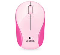 Logitech M187 First Blush RF Wireless Ambidestro Rosa mouse