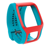 TomTom Cardio Comfort Band Rosso, Turchese