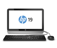 "HP 19-2114 1.4GHz E1-2500 19.5"" 1600 x 900Pixel Nero, Argento PC All-in-one"