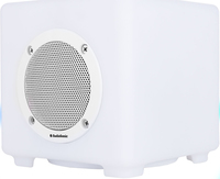 AudioSonic SK-1539 Mono portable speaker 10W Cubo Bianco altoparlante portatile