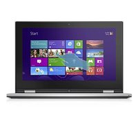 "DELL Inspiron 3147 2.166GHz N3520 11.6"" 1366 x 768Pixel Touch screen Nero, Argento Ibrido (2 in 1)"