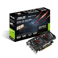 ASUS STRIX-GTX750TI-OC-2GD5 GeForce GTX 750 Ti 2GB GDDR5 scheda video