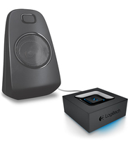 Logitech Bluetooth Audio Adapter Nero streamer audio digitale