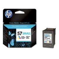 HP 57 Small Tri-color Original Ink Cartridge cartuccia d