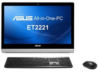 "ASUS ET 2221IUKH 2.8GHz i5-4440S 21.5"" 1920 x 1080Pixel Nero PC All-in-one"