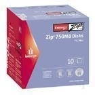 Iomega Zip® 750MB Disk 10-Pack PC/Mac® 750MB disco zip