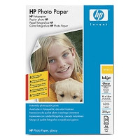 HP Glossy Photo Paper A4 Lucida Bianco carta fotografica