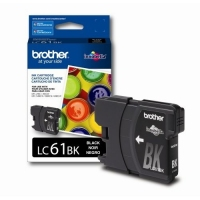 Brother LC61BK Nero cartuccia d