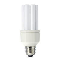 Philips 87774800 15W E27 A Bianco lampada fluorescente energy-saving lamp