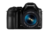 Samsung NX NX30 + OIS III 18-55mm Fotocamera Bridge 20.3MP CMOS 5472 x 3648Pixel Nero