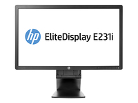 "HP EliteDisplay E231i 23"" Full HD IPS Nero monitor piatto per PC"
